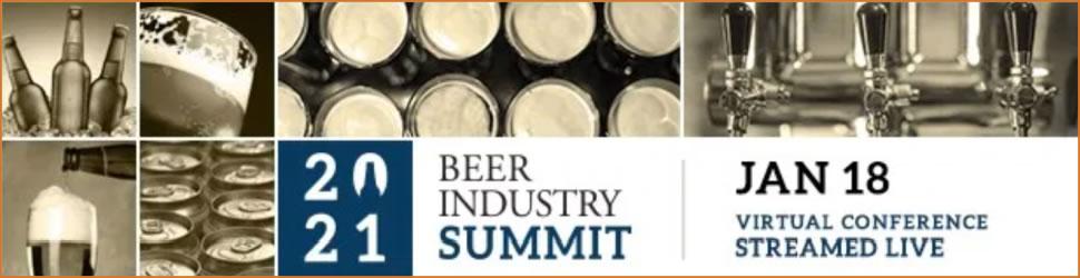 Beer Industry Summit 2021 - Jan 18 - Virtual Conference